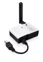 TP-LINK 150 Mbps Wireless USB 2.0 Pocket-Sized Print Server WPA WEP - TL-WPS510U