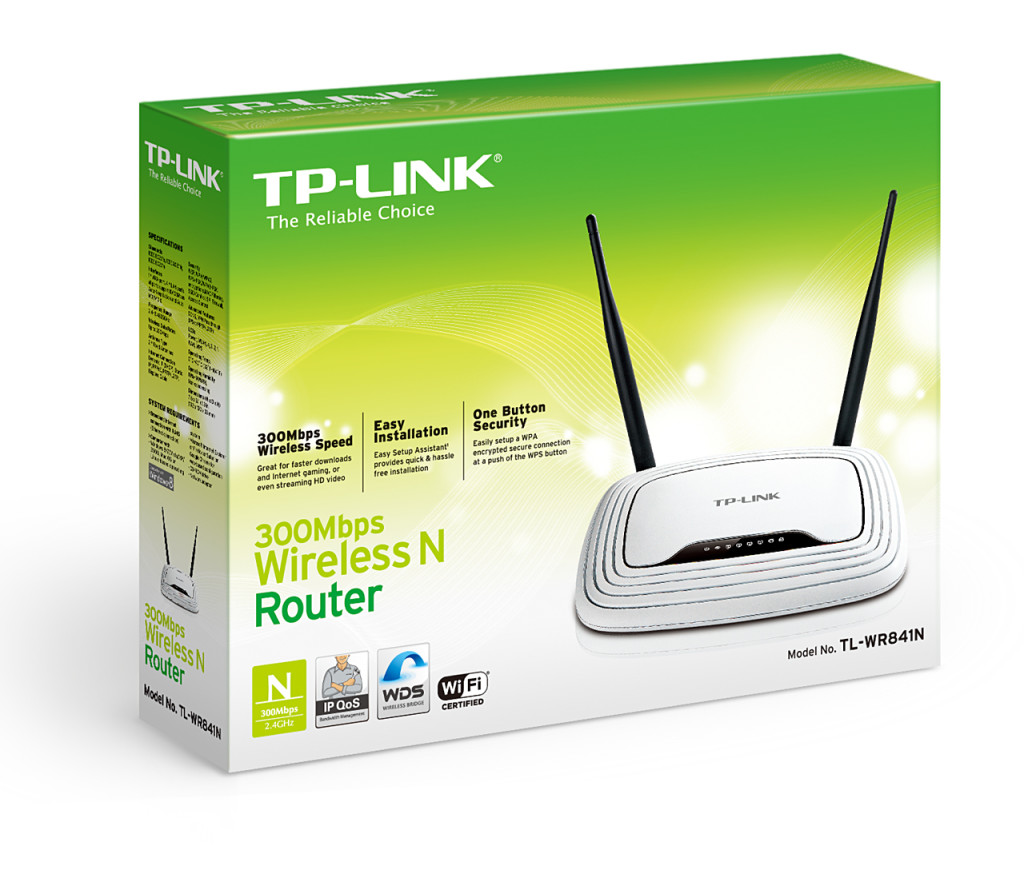 TP-Link TL-WR841ND 300Mbps Wireless N Router - Lisconet.com