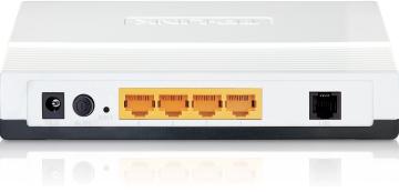 ADSL 2+ TD-8840T TP-Link DSL Modem Router ports - lisconet