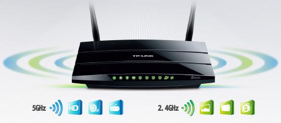 5GHz 300Mbps + 2.4GHz 300Mbps