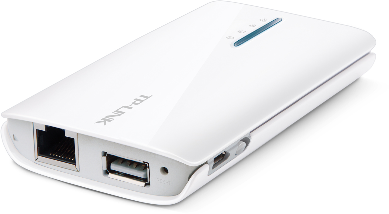 Tp Link TL MR3040 Portable Battery Powered 3G 4G Router