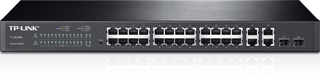 Tp-Link TL-SL2428 24-Port 10/100Mbps + 4-Port Gigabit Switch
