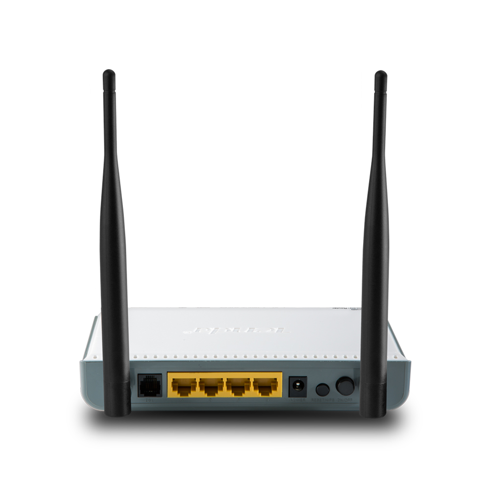 Wireless Internet Service Provider >> Tenda W300D Wireless N ADSL2/2+ Modem Router 300Mbps