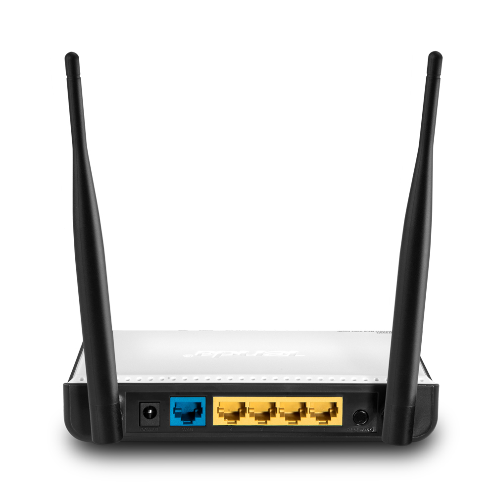 TENDA W308R 4 Port WLAN N Router 300 MBit/s Lisconet