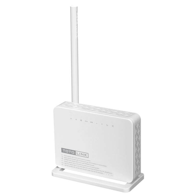 TotoLink ND150 150Mbps Wireless N ADSL 2/2+ Modem Router lisconet.com