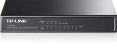 TP-Link TL-SF1008P 8-Port 100Mbps Desktop Switch with 4-Port PoE Lisconet