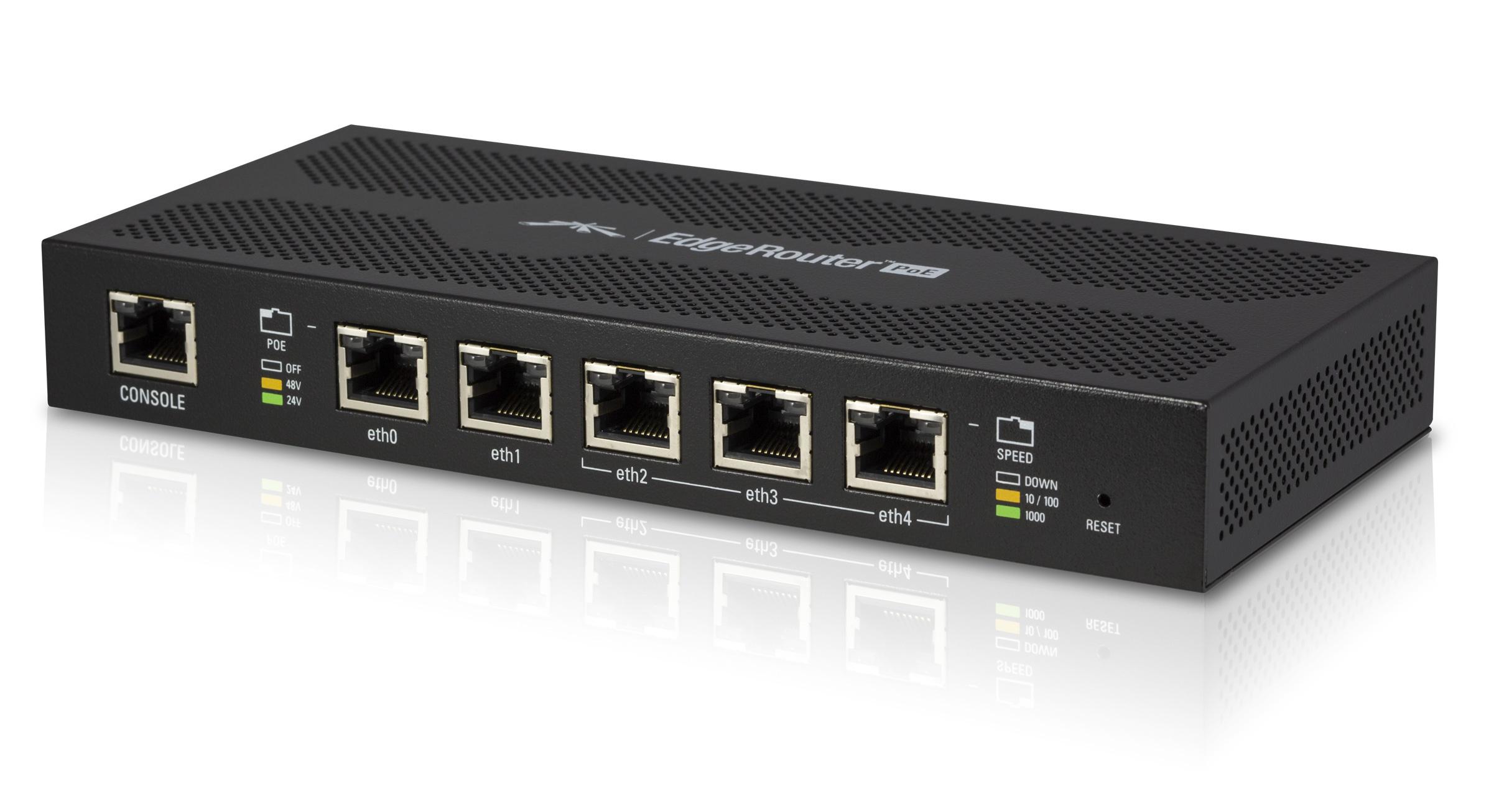 Ubiquiti EdgeRouter PoE 5 5x Gigabit Ethernet-Lisconet
