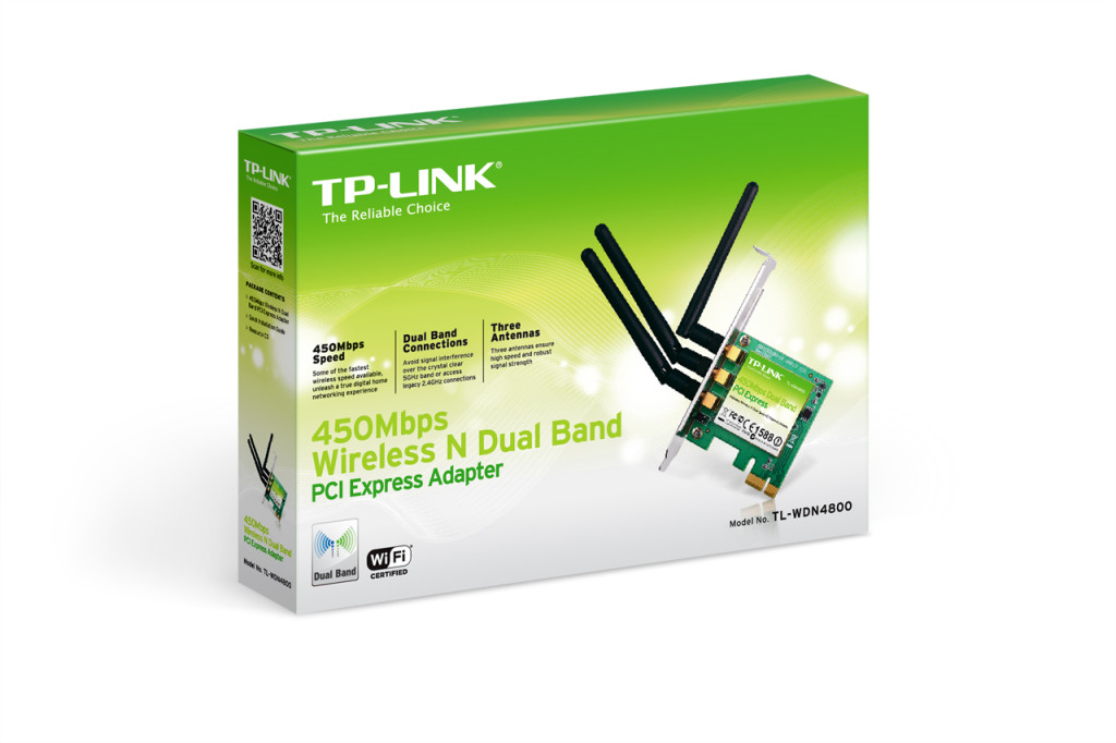 TP-Link TL-WDN4800 Wireless N Dual Band PCI Express Adapter - Lisconet.com
