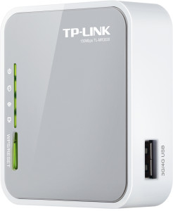 Tp-Link TL-MR3020 Portable 3G/4G Wireless N Router - Lisconet