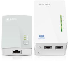 Tp-Link TL-WPA4220KIT 300Mbps AV500 WiFi Powerline Extender Starter Kit TL-WPA4220KIT - Lisconet