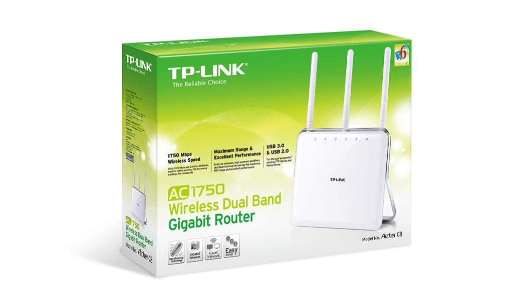Archer C8 AC1750 Wireless Router -Lisconet
