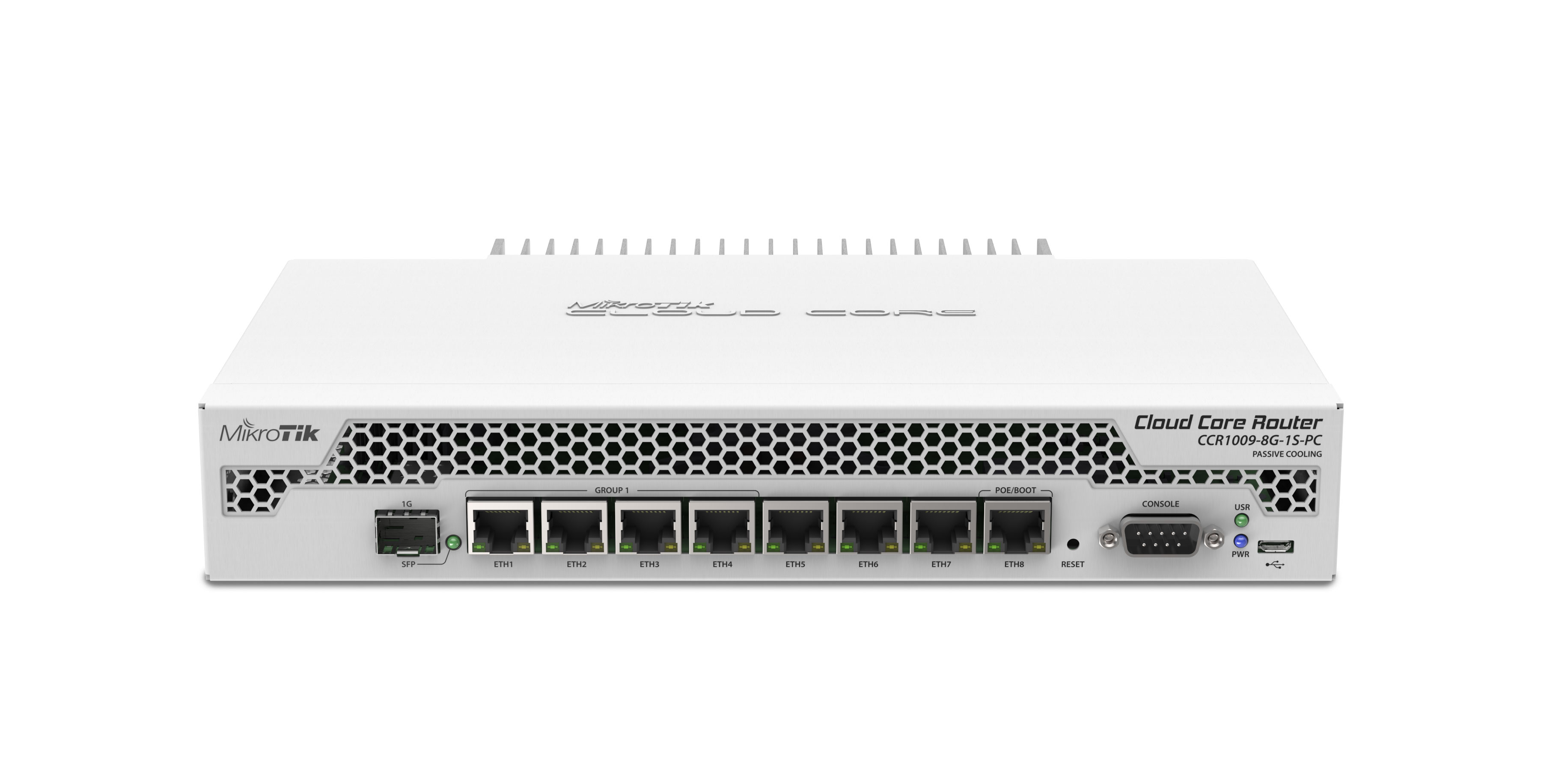 RouterBoard CCR1009-8G-1S-PC Cloud Core Router - Lisconet